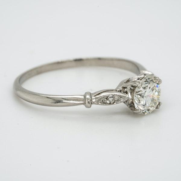 Platinum 0.55ct Diamond Solitaire Engagement Ring - image 2