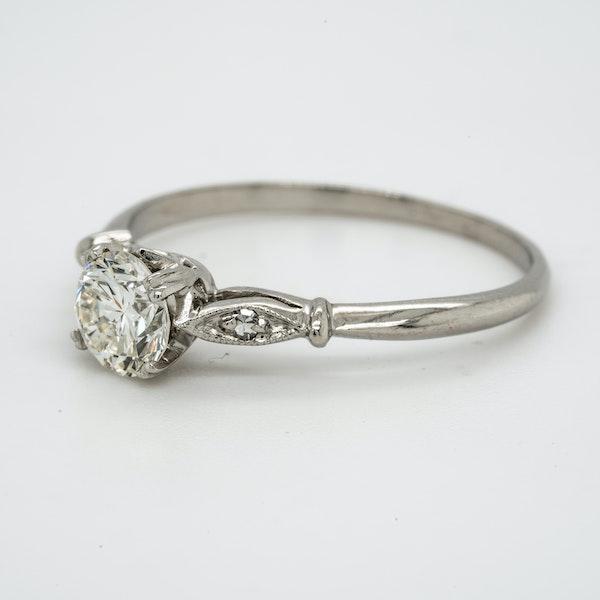 Platinum 0.55ct Diamond Solitaire Engagement Ring - image 3