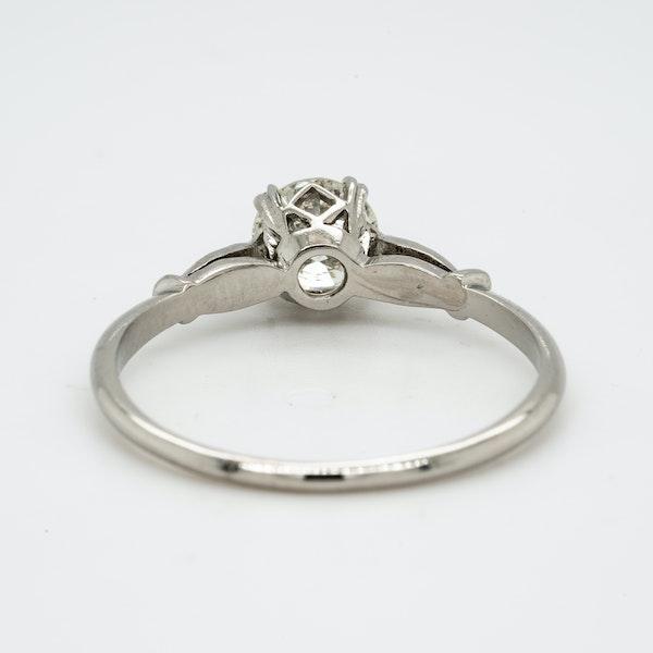 Platinum 0.55ct Diamond Solitaire Engagement Ring - image 4