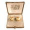 A pair of Gold Ball Earrings - image 1