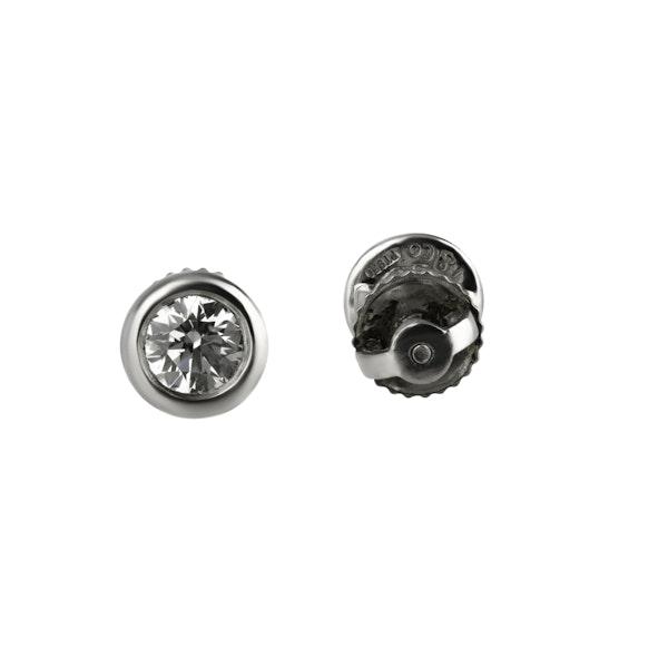 Tiffany Diamond Earrings - image 2