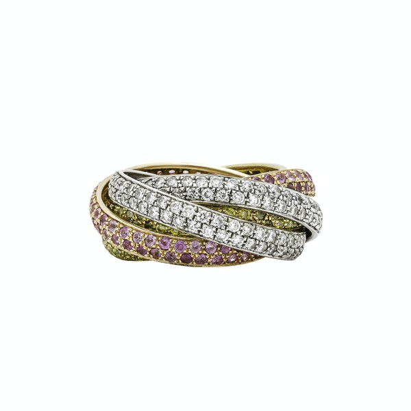 Six Band Eternity Ring - image 2