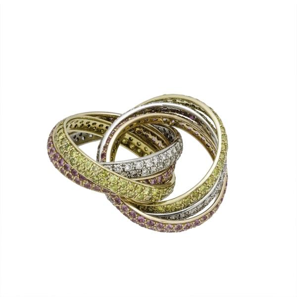 Six Band Eternity Ring - image 3