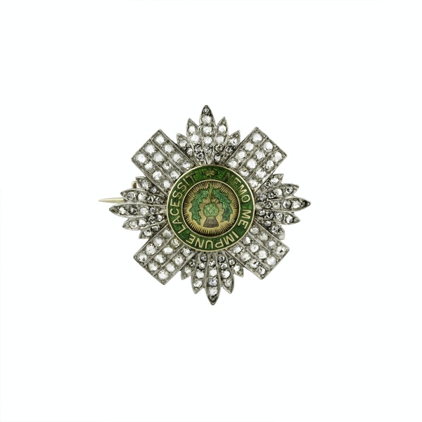 Sweetheart Military Brooch - image 1