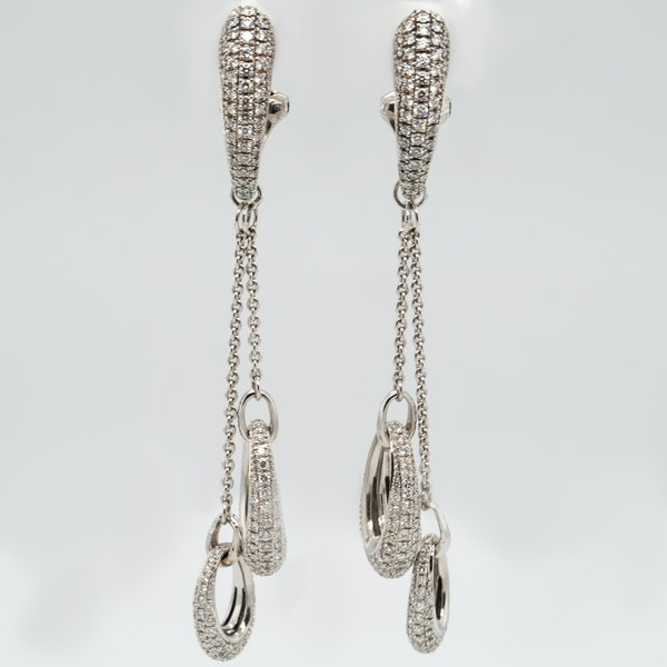 Diamond Earrings - image 2