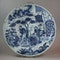 Dutch delft blue and white charger, circa 1700 - image 1