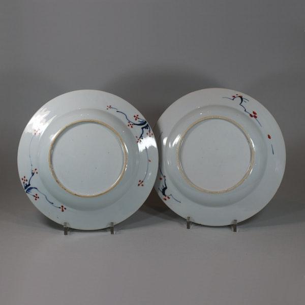 Pair of Chinese verte-imari 'Governor Duff' plates, Yongzheng, circa 1725-30 - image 2