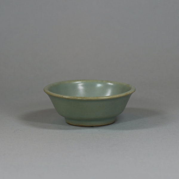 Chinese small Longquan celadon brush washer, Southern Song dynasty (1127-1279) - image 1