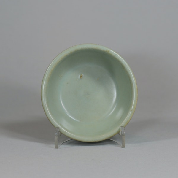 Chinese small Longquan celadon brush washer, Southern Song dynasty (1127-1279) - image 2