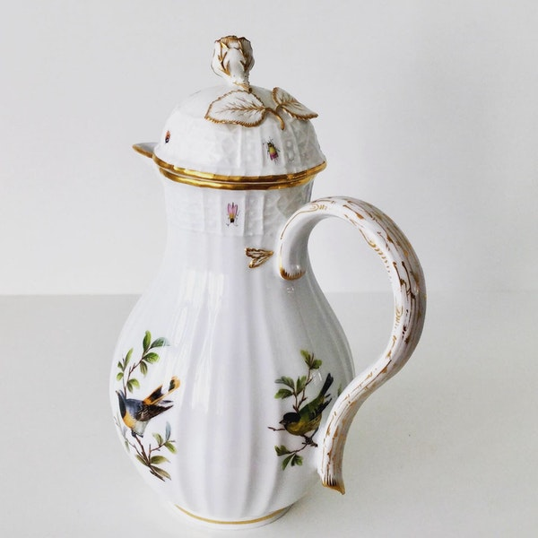 Meissen ornithological coffee pot and cover - image 4