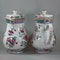Pair of large Chinese famille rose jugs and covers, Qianlong (1736-95) - image 5