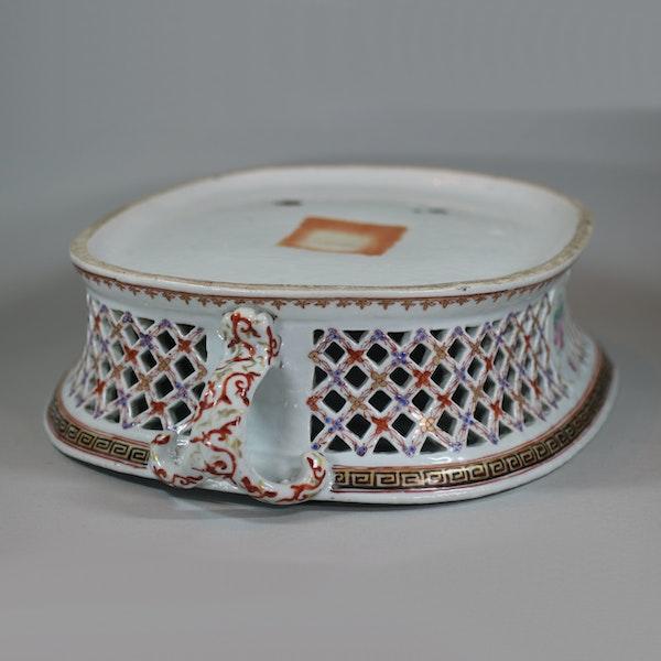 Chinese famille rose basket, Qianlong (1736-95) - image 4