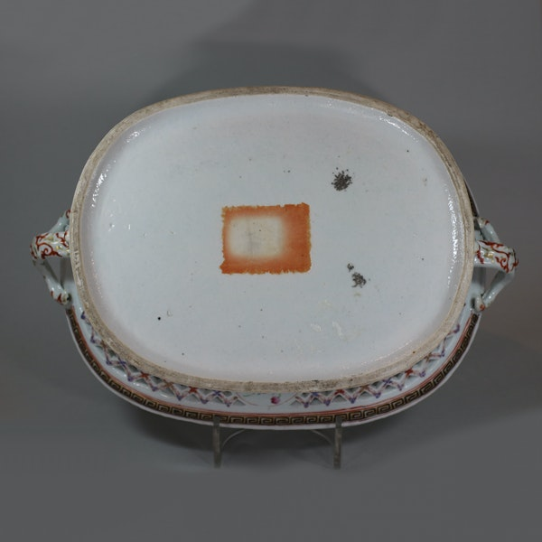 Chinese famille rose basket, Qianlong (1736-95) - image 7
