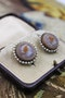 A very fine pair of Hardstone Cameo Earrings set in High Carat Yellow Gold, Circa 1830 - image 1