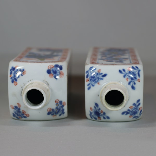 Pair of Chinese imari gin bottles, Kangxi (1662-1722) - image 7