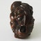 Wood Netsuke of masks - image 2