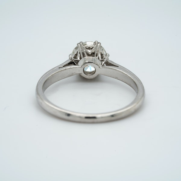 Platinum 1.01ct Diamond Solitaire Engagement Ring - image 5