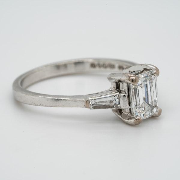 Platinum 1.08ct Diamond Solitaire Engagement Ring - image 2