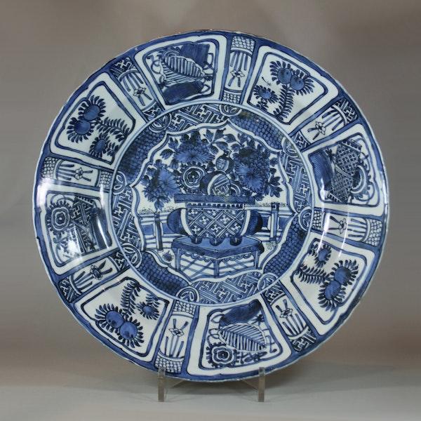 Large Chinese kraak dish, Wanli (1573-1619) - image 1