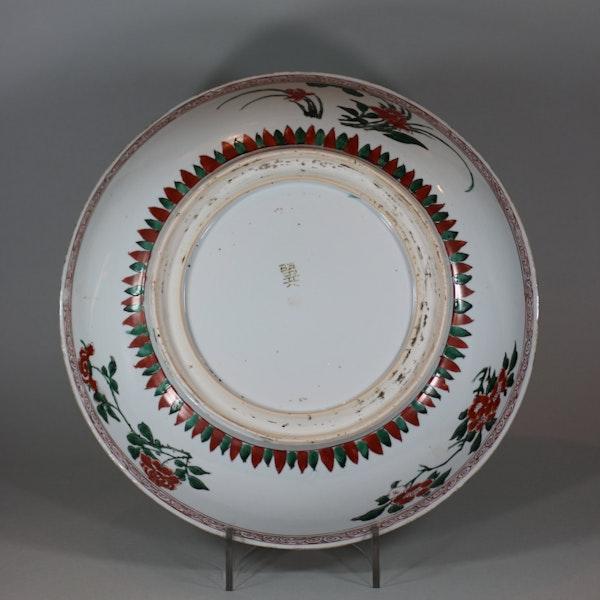 Chinese famille verte dish, Shunzhi (circa 1650-60) - image 2