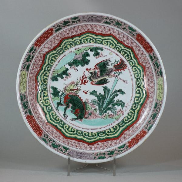 Chinese famille verte dish, Shunzhi (circa 1650-60) - image 1