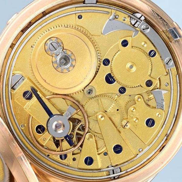 QUARTER REPEATING GOLD FULL HUNTER - image 5