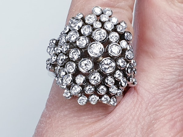Diamond 'Bubbles' Dress Ring  DBGEMS - image 1
