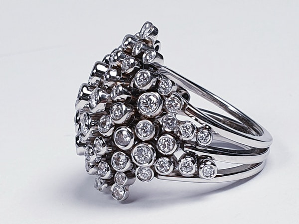 Diamond 'Bubbles' Dress Ring  DBGEMS - image 3