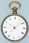 ENAMELLED SILVER GILT CHINESE MARKET POCKET WATCH - image 3