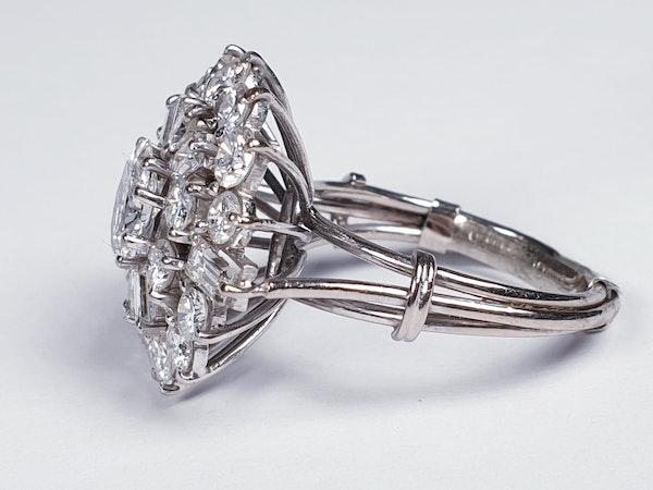 Stunning Diamond Cluster Ring  DBGEMS - image 1
