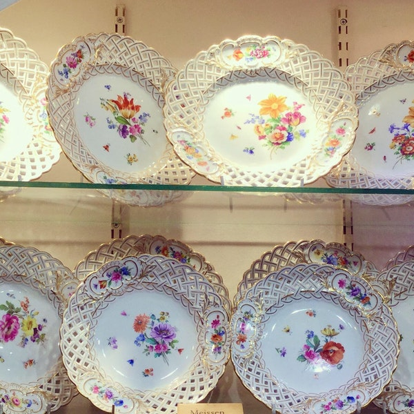 Meissen reticulated plates - image 3