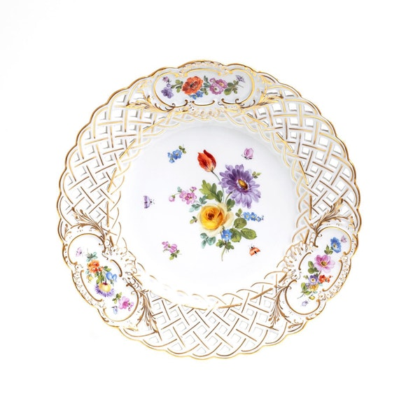 Meissen reticulated plates - image 1