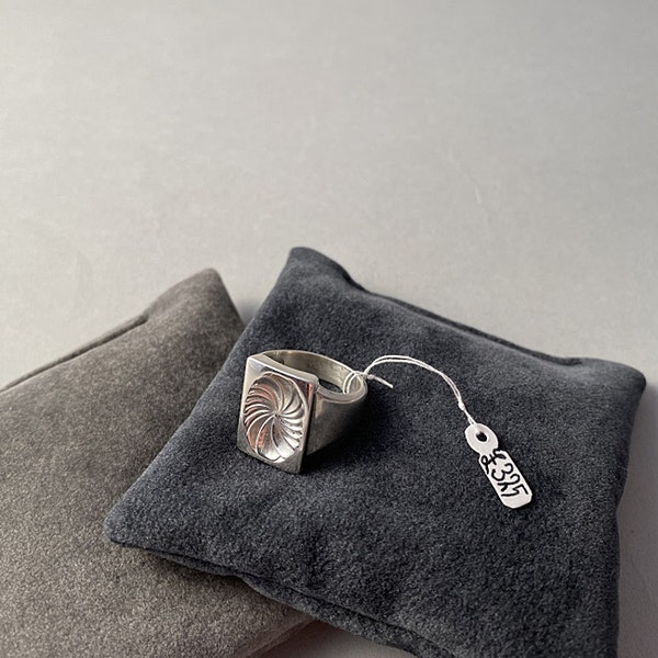 Date: post 1945 mark, Silver Ring by Georg Jensen, SHAPIRO & Co since1979 - image 6