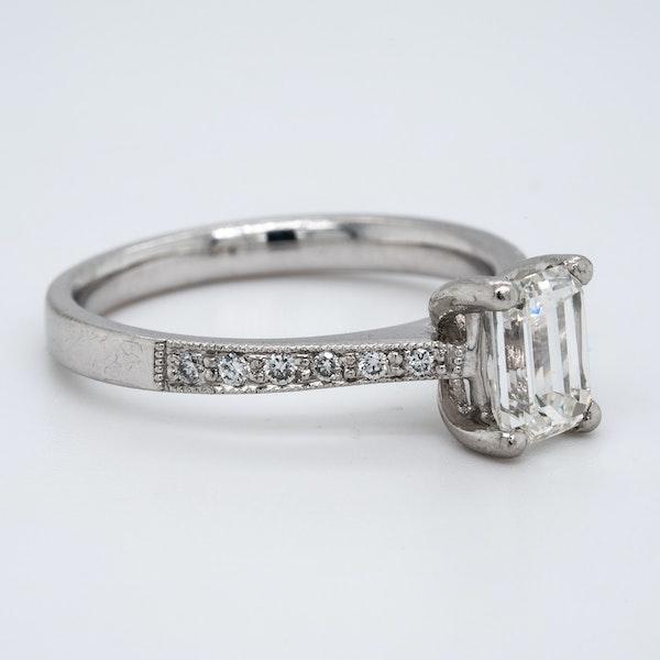 Platinum 1.02ct Diamond Solitaire Engagement Ring - image 2