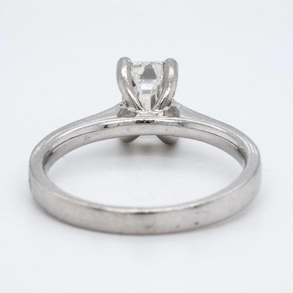 Platinum 1.02ct Diamond Solitaire Engagement Ring - image 4