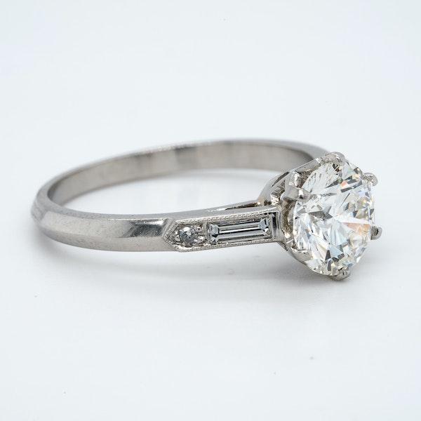 Platinum 1.50ct Diamond Solitaire Engagement Ring - image 2