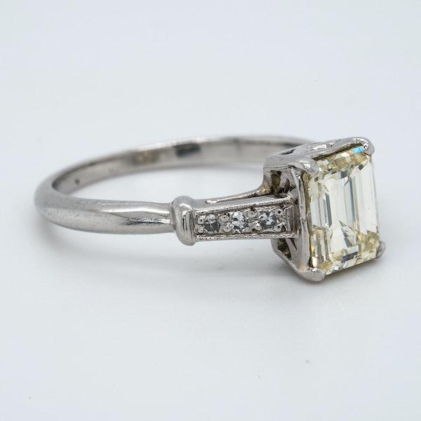 Platinum 1.19ct Diamond Solitaire Engagement Ring - image 2