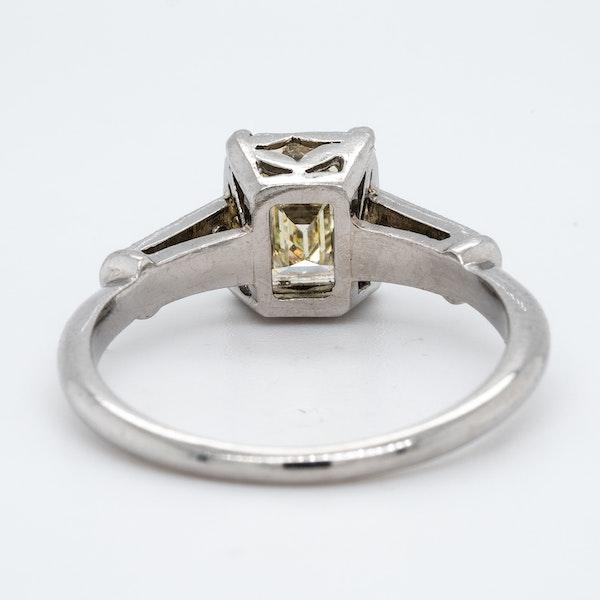Platinum 1.19ct Diamond Solitaire Engagement Ring - image 4