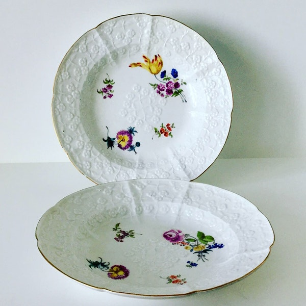 18th century Meissen plates - image 3