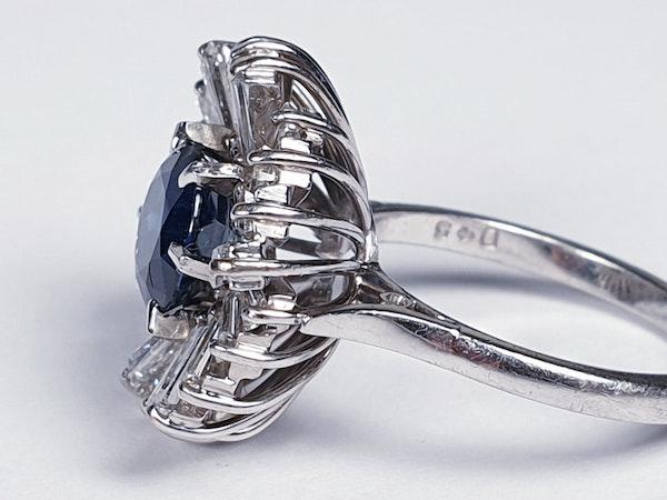 Sapphire and Diamond Ballerina Ring  DBGEMS - image 2