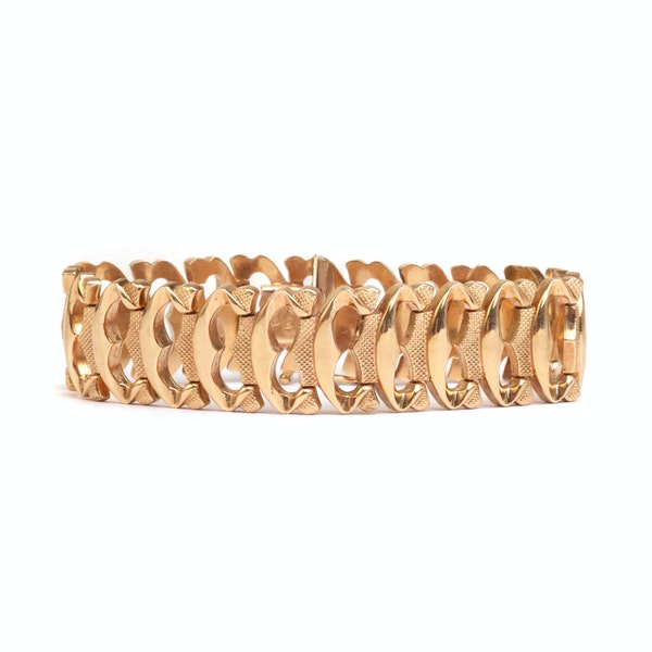 An Italian Gold Bracelet - image 1