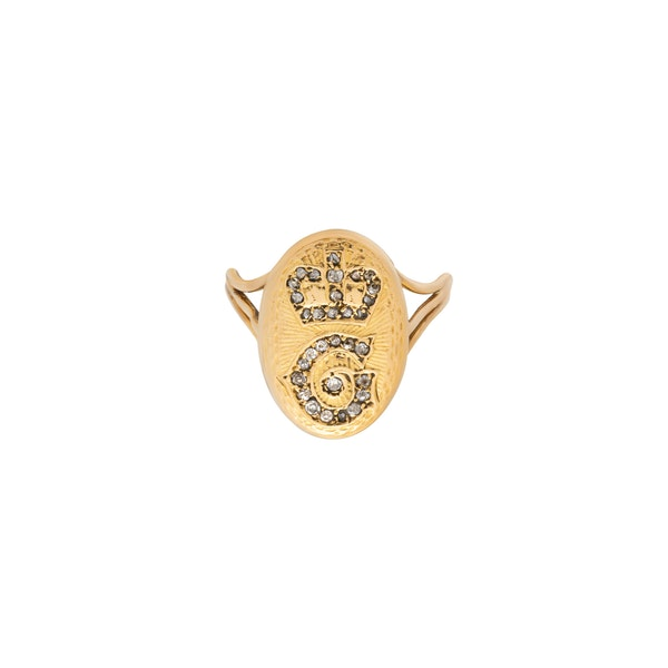 Rare Georgian Ring - image 1
