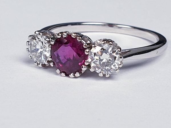 Ruby and Diamond Ring DBGEMS - image 3