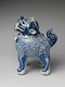 A RARE BLUE AND WHITE 'LUDUAN' CENSER AND COVER, WANLI, EARLY 17TH CENTURY - image 1