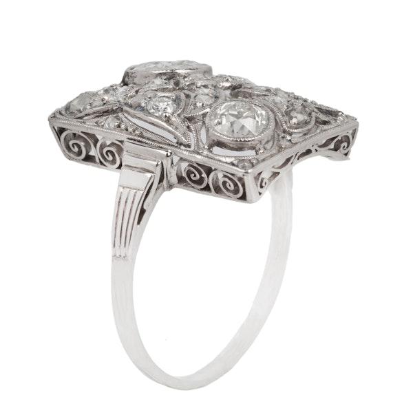 1930's deco ring - image 1
