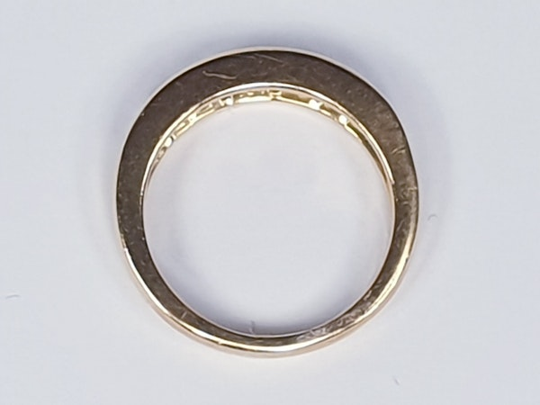 Half hoop diamond ring  DBGEMS - image 3