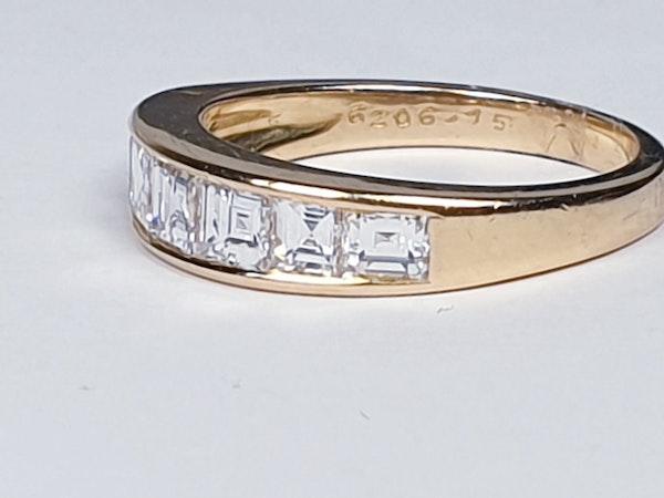 Half hoop diamond ring  DBGEMS - image 5