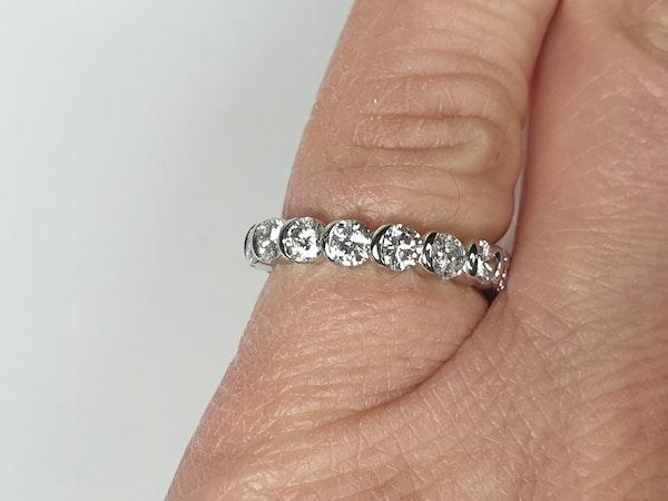 French Full Hoop Diamond Eternity Ring  DBGEMS - image 3