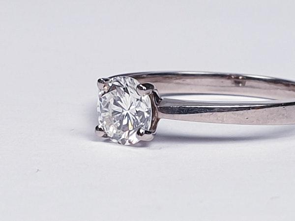 Single Stone Diamond Engagement Ring  DBGEMS - image 3