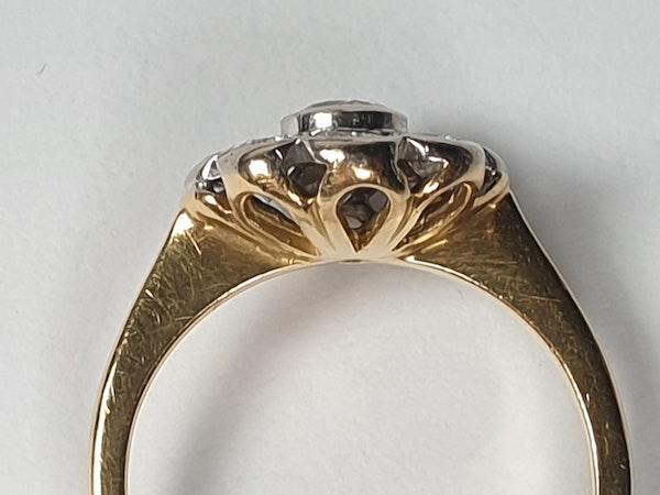 Rubover Diamond Cluster Ring  DBGEMS - image 4